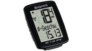 <b>Велокомпьютер SIGMA BC 7.16</b> ATS беспроводной (7 функций ...