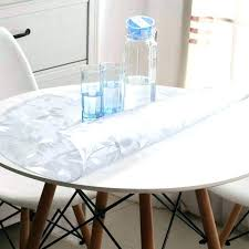 thick clear plastic table protector thick clear plastic table cover clear plastic tablecloth waterproof protector table