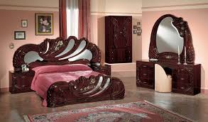italian furniture bedroom sets. vanity mahogony italian classic 5piece bedroom set furniture sets s