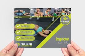 Female Fitness Brochure Template Pack Brandpacks