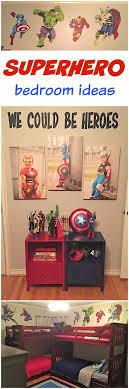 Kids Bedroom For Boys 17 Best Ideas About Avengers Boys Rooms On Pinterest Marvel