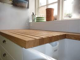 Wood Kitchen Top 23 Impressive Oak Work Tops For Kitchens