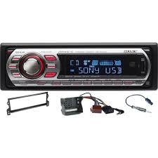 sony car stereo. bmw mini sony cdx-gt610u + ct24bm03 ctsbms004 ct27aa06 car stereo n