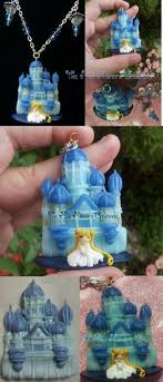 Sailor Moon - Silver Millennium Castle by TheMadMilliners on deviantART  http://themadmilliners. Clay CraftsClay ...