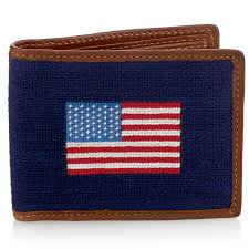 petitpoint american flag wallet hover to zoom