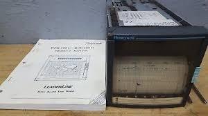 Honeywell Dpr100 Strip Chart Recorder W Manual Dp101 0 B 0c