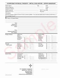 Physical Therapy Progress Note Template Bassafriulana Template
