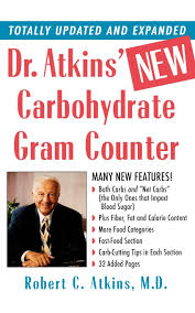 Dr Atkins New Carbohydrate Gram Counter Amazon Co Uk