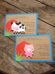 moo invitations amusing farm themed birthday invitations to make birthday invites