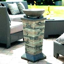 fire pit column gas fire column propane bowl tall square real flame gas fire column outdoor fire pit column outdoor
