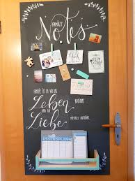 Diy Tipp Magnetisches Blackboard Aus Holz Magnetfarbe Ideen