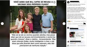 Fact Check. Bill Gates recusou-se a vacinar os filhos? – Observador
