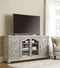 Marleny  Gray Extra Large TV Stand 60 Tv Stand52
