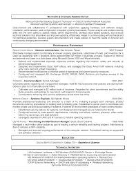 Free Network Administrator Resume Templates At