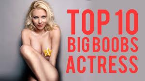 Big boob movie star