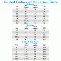 Benetton Trousers Size Chart United Colors Of Benetton Stripes Brown Dress Pants Size