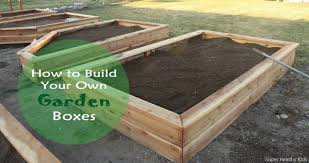 how to build a garden. How To Make Your Own Garden Boxes. Everything You Need This Happen In Build A
