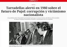 Resultado de imagen de JORDI PUJOL DESDE EL PALAU DE LA GENERALITAT