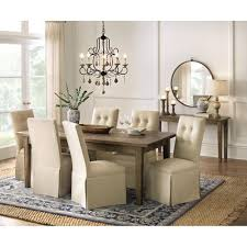 grey dining room chair. Parquetry French Grey Extendable Dining Table Room Chair T