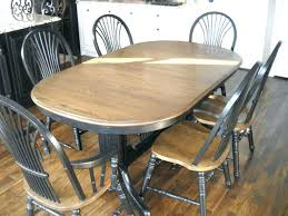 how to refinish dining room table kitchen table refinishing dining sets two color refinished oak dining how to refinish dining room table
