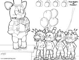 New Five Nights At Freddy Printable Coloring Pages Coloring Pages