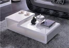 White modern coffee table Black White Modern Coffee Table Stagger Best Tables Design Ideas Sample Decorating 11 Villa Sull Oceano White Modern Coffee Table Villasulloceanocom