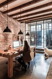 A loft home in Amsterdam A former warehouse renovated into loft by it's  owner, the interior designer Marius Haverkamp. thanks to Dustjacket Attic