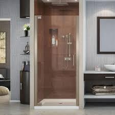 frameless single shower doors. Brilliant Frameless DreamLine Elegance 34 In To 36 X 72 SemiFrameless And Frameless Single Shower Doors O