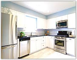 kitchen design white cabinets stainless appliances. Fine Appliances Kitchen Design White Cabinets Stainless Appliances  Colors For  With Steel To H
