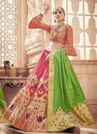 Engagement Lehenga Designs 2018 Stylish Alia Bhat Fuchsia Pink Lehenga Choli For Engagement