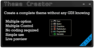 Theme Creator By Miky94x Codecanyon