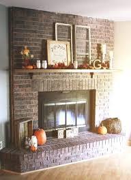fall mantel decorating ideas classic fall mantel fireplace