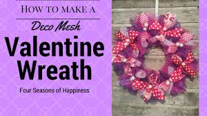 simple valentines wreath afforable deco mesh wreath how to make a simple valentines wreath you