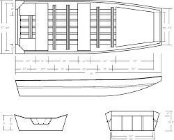 Aluminium Boat Designs Plans Free Free Plans On Wood Jon Boats How To And Diy Building Plans