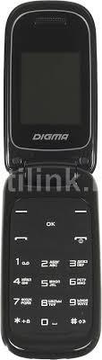 Купить Мобильный <b>телефон DIGMA</b> A205 2G <b>Linx</b>, черный в ...