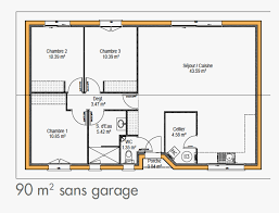 Plan De Maison Simple élégant Cuisine Plan Maison Moderne Simple