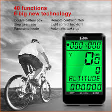 Wireless MTB Bike Bicycle <b>Cycling Computer</b> Odometer ...