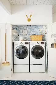 Laundry Room Wallpaper Designs Laundry Closet Makeover Shop Laundry Utility Decor