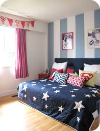 decor red blue room full: house of giggles a yellow and striped shared boys