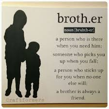 brother canvas and diy image on brothers wall art quotes with personalised canvas wall art brother quote