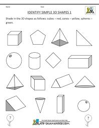 The 25+ best 3d shapes worksheets ideas on Pinterest | 3d shapes ...