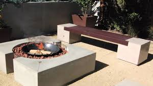 how to build an outdoor fireplace with cinder blocks unique concreteî seat walls and î