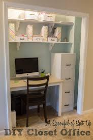 office in a closet ideas. Cool Office Closet Design Photo Ideas In A