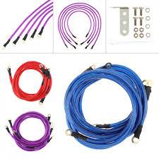 Универсальный 5-ти точечные Авто <b>кабель заземления</b> ...