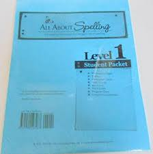 All About Spelling Phonogram Chart All About Spelling Level 1 Student Packet Unknown