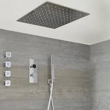 Digitale 3 Wege Dusche Inkl 500x500mm Decken Duschkopf Körperdüsen Brause Narus