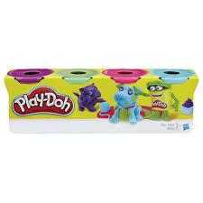 <b>Пластилин PLAY</b>-<b>DOH Hasbro</b>, <b>4</b> цвета, 546 г, баночки в коробке ...