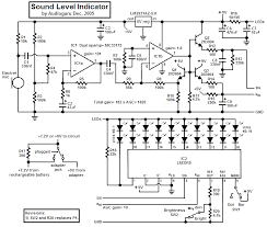 audio circuits and amplifier circuits sound level indicator