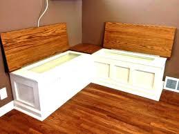 breakfast nook bench with storage kitchen awesome plans lift top wit breakfast nook with storage bench