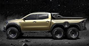 The Mercedes X-Class Concept Pickup Is an Off-Roading Monster - Maxim